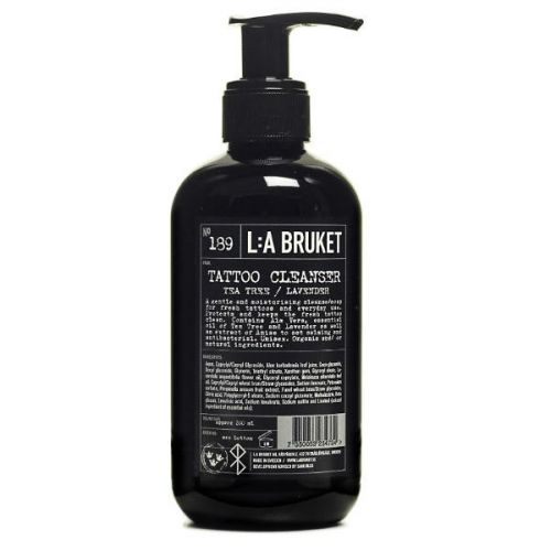 L:A Bruket No.189 Tattoo Cleanser (200ml)