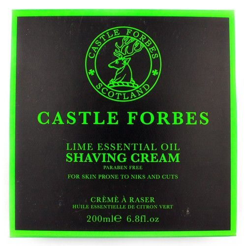 Castle Forbes Lime Essential Oil Shaving Cream