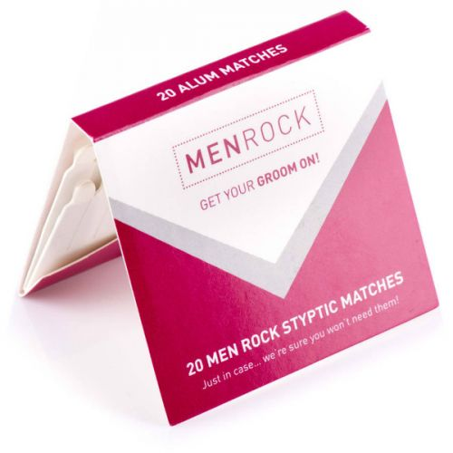 Men Rock Styptic Matches
