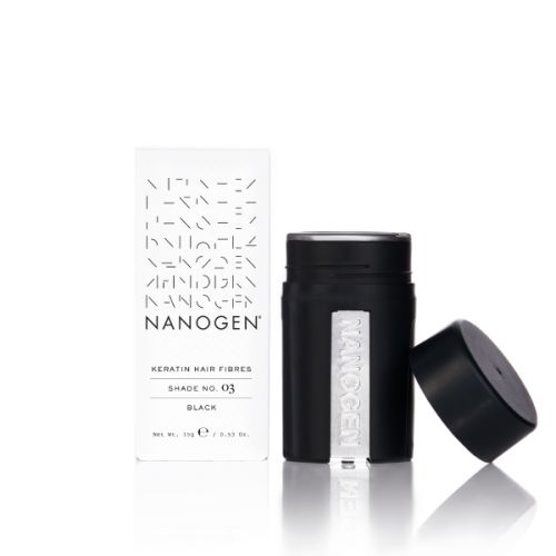 Nanogen Thickening Hair Fibres - Black | 15g
