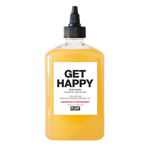Plant Apothecary Get Happy Body Wash - Geranium and Peppermint (281ml)