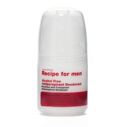 Recipe for Men Alcohol Free Antiperspirant Deodorant (60ml)