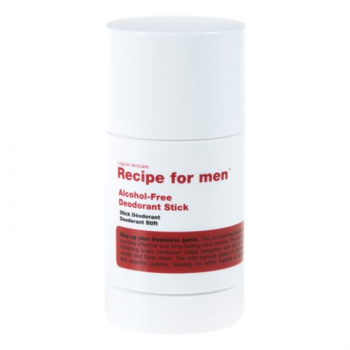Recipe for Men Deodorant Stick - Alcohol-Free