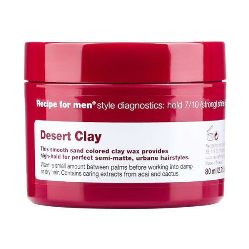 Recipe for Men Desert Clay Wax (80ml)