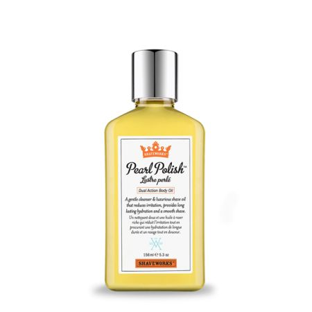 Shaveworks Pearl Polish Dual Action Body Oil (156ml)