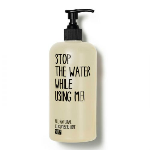 Stop The Water While Using Me All Natural Cucumber Lime Soap (200ml)