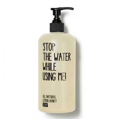 Stop The Water While Using Me All Natural Lemon Honey Soap (200ml)
