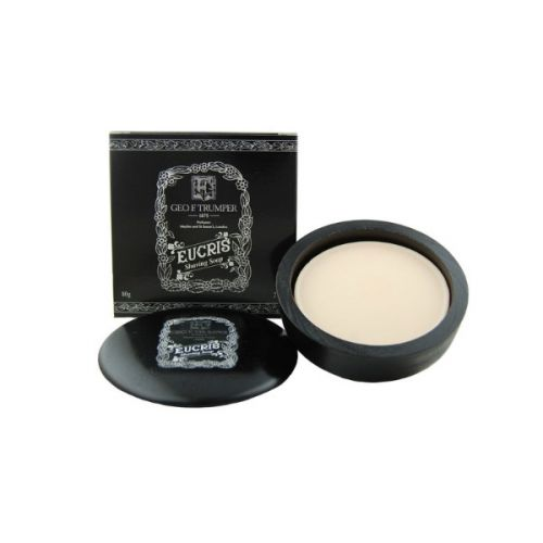 Geo F Trumper Eucris Shave Soap in Wooden Bowl (80g)