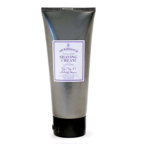 D R Harris Luxury Shave Cream Tube - Lavender (75g)