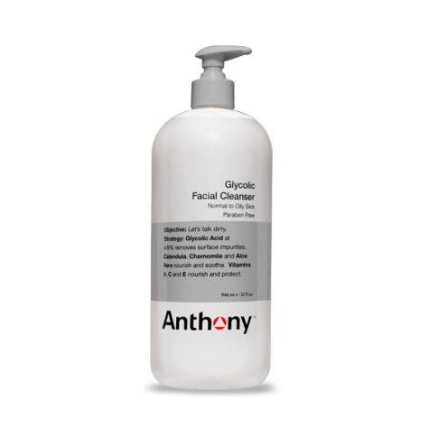 Anthony Logistics Super Size Glycolic Facial Cleanser (946ml)
