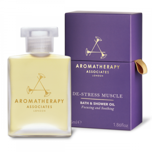 Aromatherapy Associates De-Stress Muscle Bath and Shower Oil (55ml)