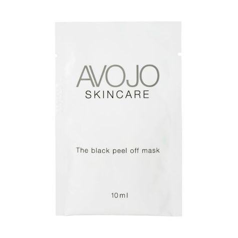 Avojo - The Black Peel-Off Mask (4 x 10ml Sachets)