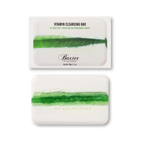 Baxter of California Vitamin Cleansing Bar Italian Lime & Pomegranate (198g)