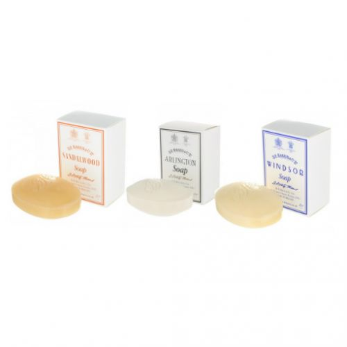 D R Harris Bath Soap 3 Pack - Windsor, Arlington, Sandalwood