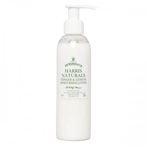 D R Harris Ginger & Lemon Hand & Body Lotion (200ml)