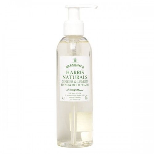 D R Harris Ginger & Lemon Hand & Body Wash (200ml)
