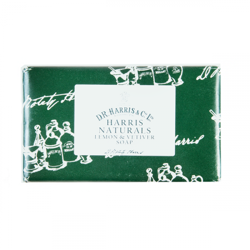 D R Harris Naturals Lemon & Vetiver Soap (200g)