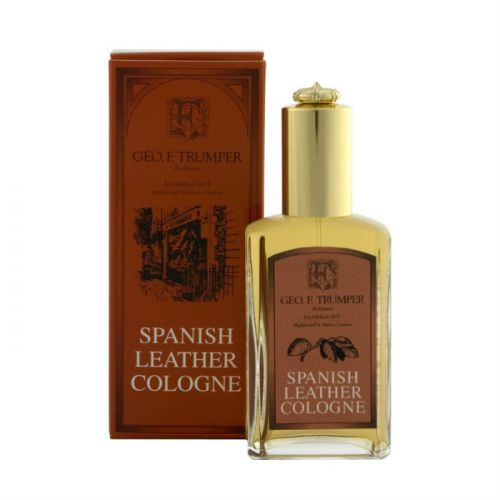 Geo F Trumper Spanish Leather Cologne (50ml with atomiser)