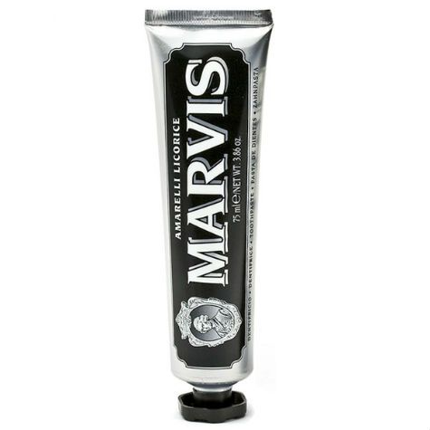 Marvis Amarelli Liquorice Toothpaste - 85ml Tube