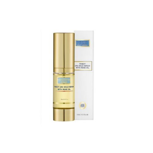 Moroccan Natural Finest 24k Gold Serum with Rose Oil