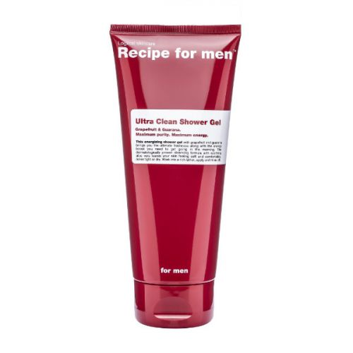 Recipe for Men Ultra Clean Shower Gel with Guarana and Grapefruit (200ml)