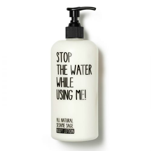 Stop The Water While Using Me All Natural Sesame Sage Body Lotion (500ml)