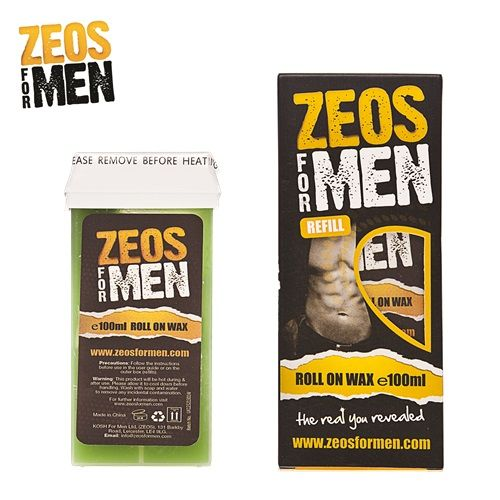 Zeos For Men Roll-On Wax Cartridge Refill (100ml)