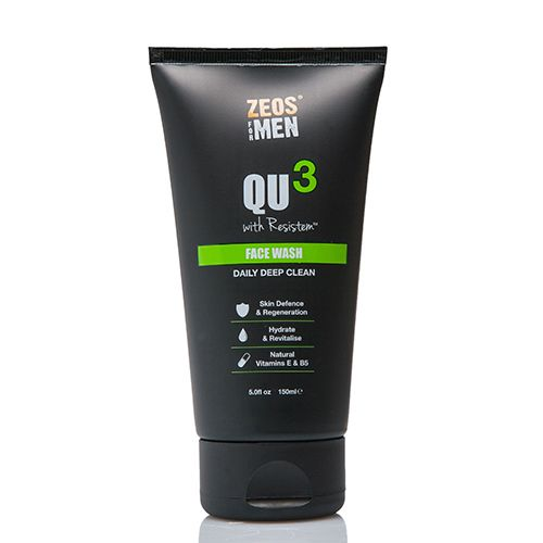 Zeos for Men QU3 Face Wash (150ml)