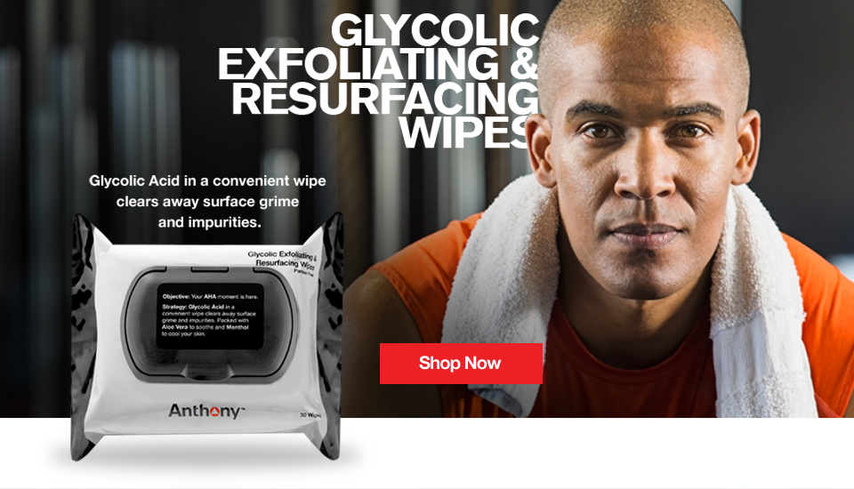 Anthony Glycolic Wipes