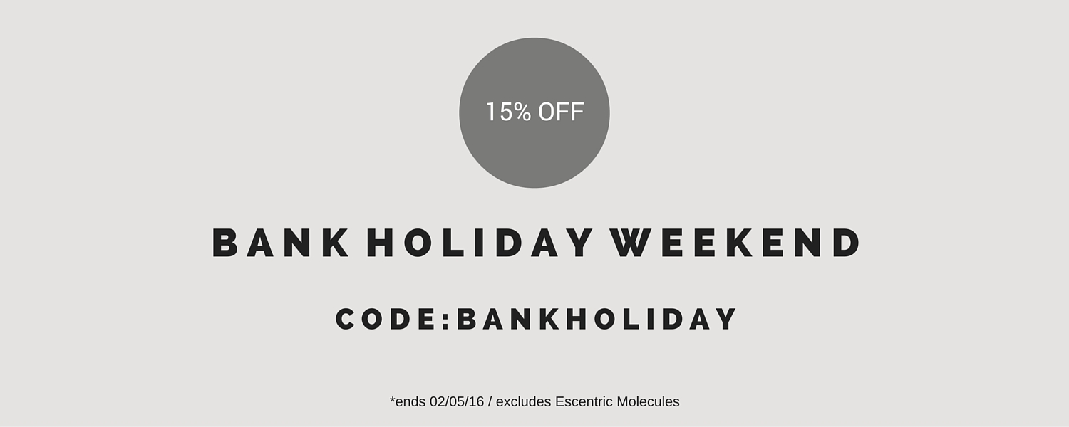 Bank Holiday Promotion