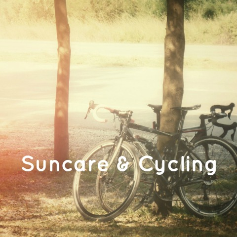 Suncare for cyclists