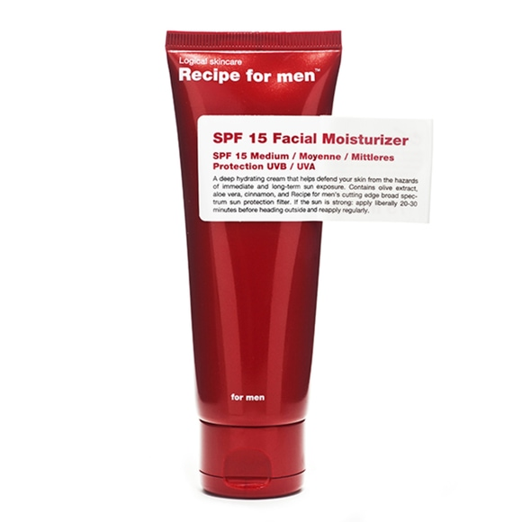 Recipe for Men SPF15 Moisturiser